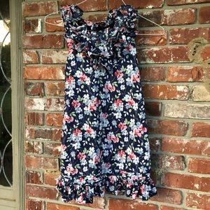 Ralph Lauren girls floral dress size 10